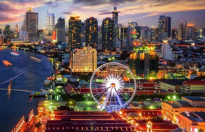 Điếm đến Thủ đô Bangkok