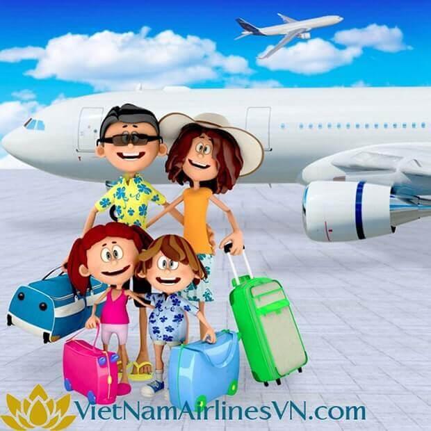 Săn vé VietnamAirlines giá rẻ thỏa sức du lịch