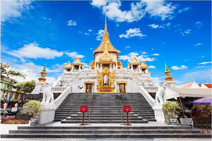 Điếm đến Chùa Phật Vàng