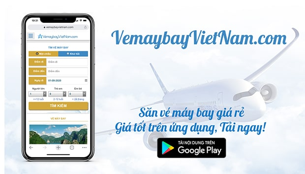 Đặt vé máy bay giá rẻ nhanh chóng tại VemaybayVietNam.com