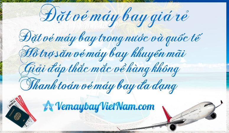 Đặt vé máy bay theo đoàn Vietnamairlines