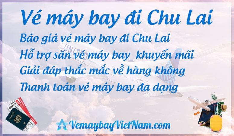 Vé máy bay đi Chu Lai