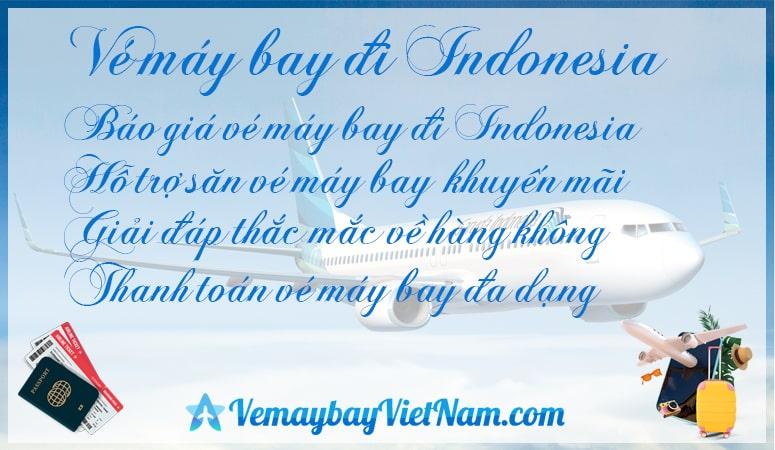 Vé máy bay đi Indonesia