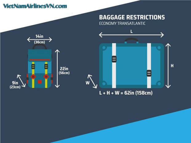 Mua thêm hành lý Vietnam Airlines