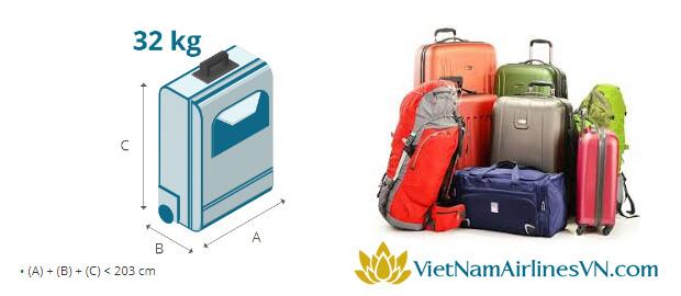 Quy định hành lý VietNamAirlines