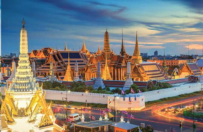 Các điểm du lịch Thái Lan hấp dẫn