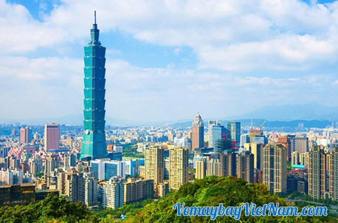 vé máy bay đi Đài Loan Vietnamairline