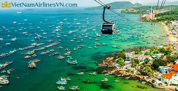 Vé máy bay VietNamAirlines đi Phú Quốc