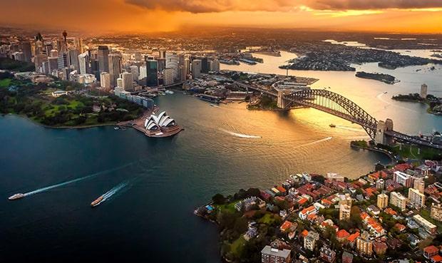 vé máy bay đi Úc Vietnamairline