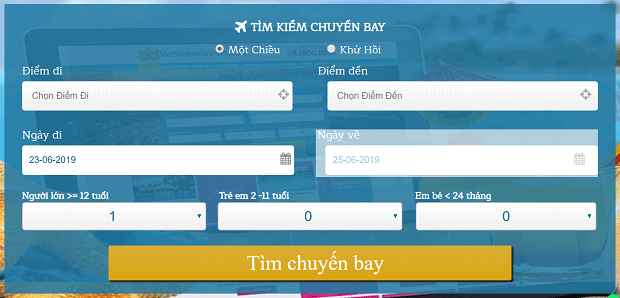 Vé máy bay đi Vũ Hán VietnamAirlines