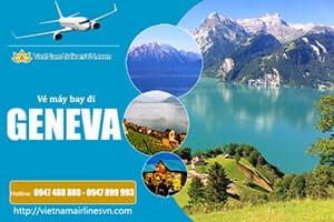 Vé máy bay đi Geneva Vietnam Airlines