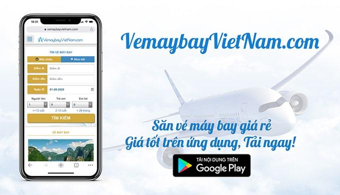 vé máy bay giá rẻ VietNamAirlines