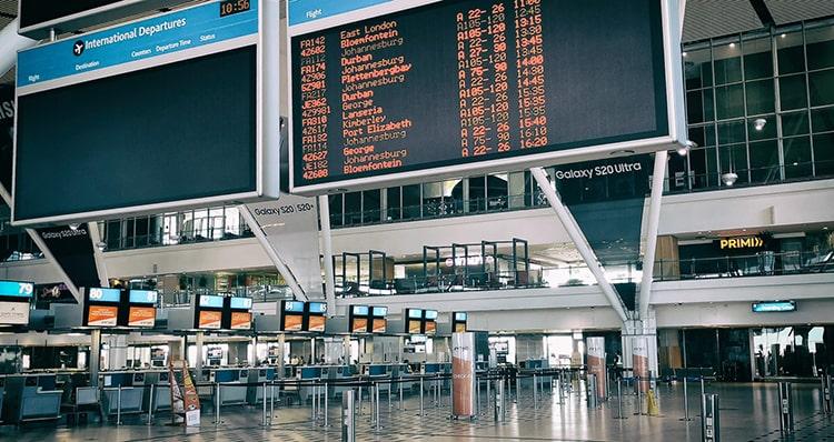 Vé máy bay đi Nam Phi